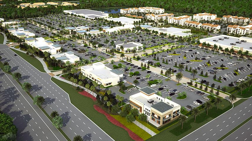 pnc bank funds construction loan for alton town center in palm beach gardens south florida