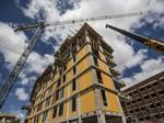 Marquette's new dorm rises from the ground