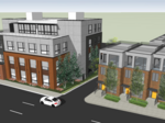 Italian Village commercial strip taking off north of Jeffrey Park development on N. 4th