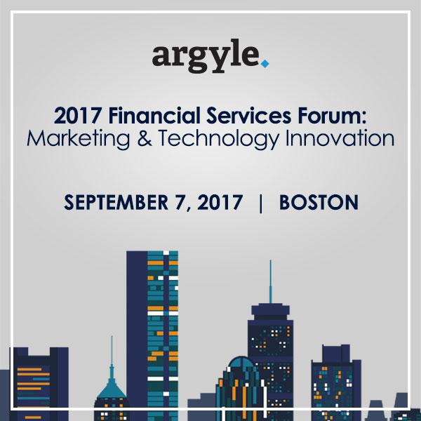 2017 FinServ Forum: Marketing & Technology Innovation