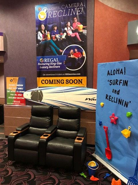 Regal Entertainment Group S Largest Movie Theater In Hawaii