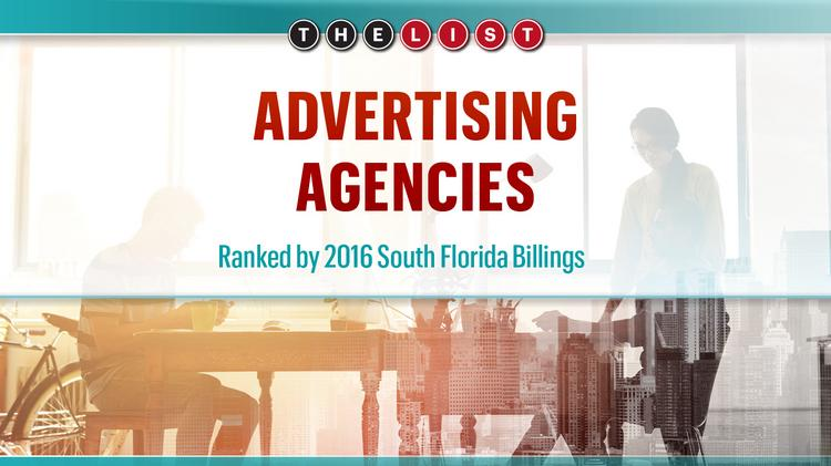 The List: Advertising Agencies - South Florida Business Journal