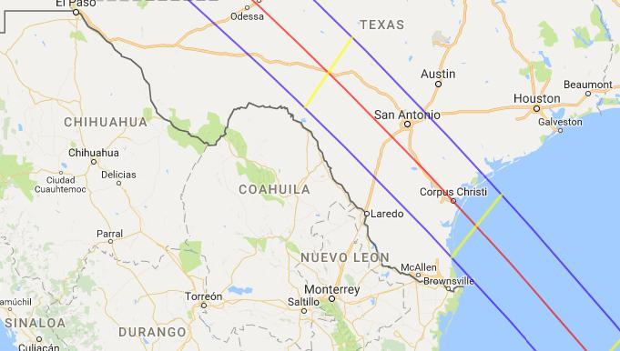San Antonio In Direct Path Of Two Future Solar Eclipses San