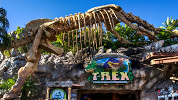 T Rex Cafe Kansas City Build A Dino
