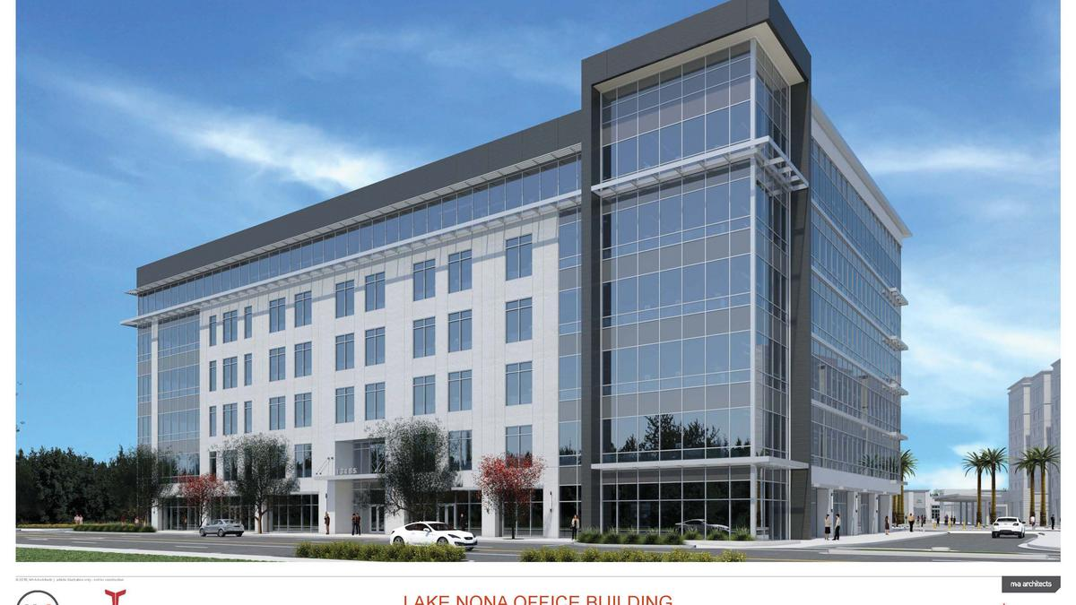 Lake Nona Town Center spec office project signs general contractor ...