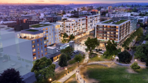 New images reveal design of four-building development at Capitol Hill light rail station