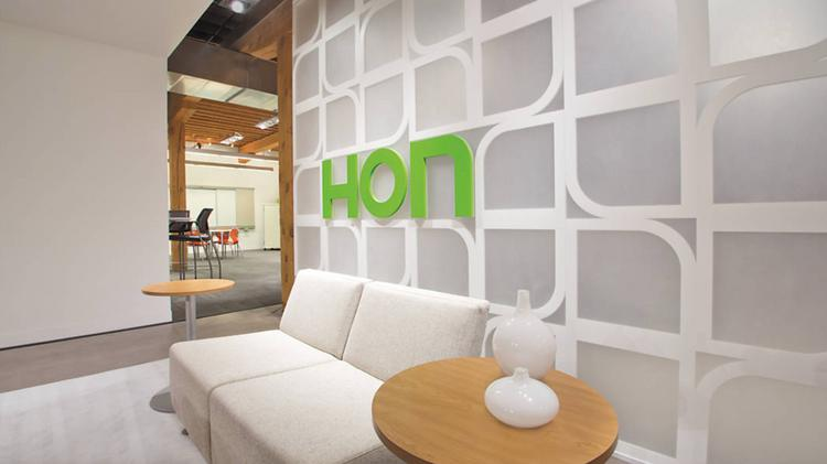 HON headquarters is located in Muscatine, Iowa.