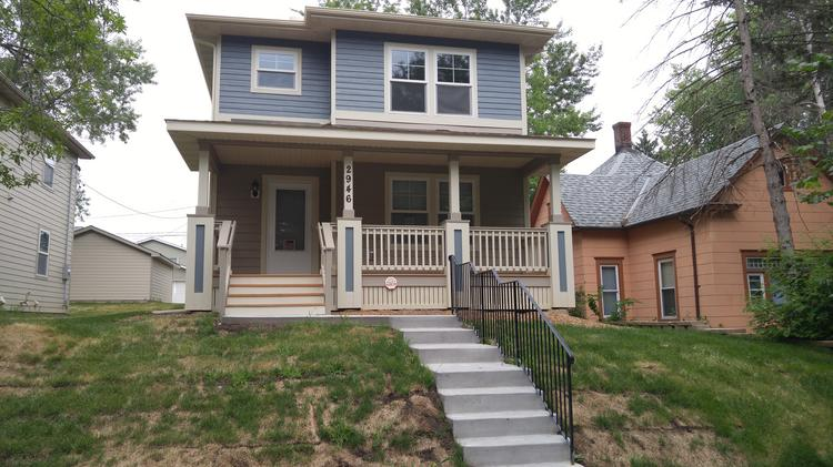 A New Construction Home In North Minneapolis, Built By Twin Cities Habitat  For Humanity,