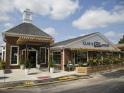 The exterior of the new Katie's Pizza and Osteria at the Clayton Village Shopping Center in Town & Country.