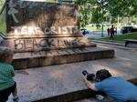 'It's a big relief that it is gone,' bystander says of a Confederate statue in Wyman Park