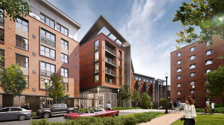 The Trove will add 401 units to the site of The Wellington, off Columbia Pike in Arlington.