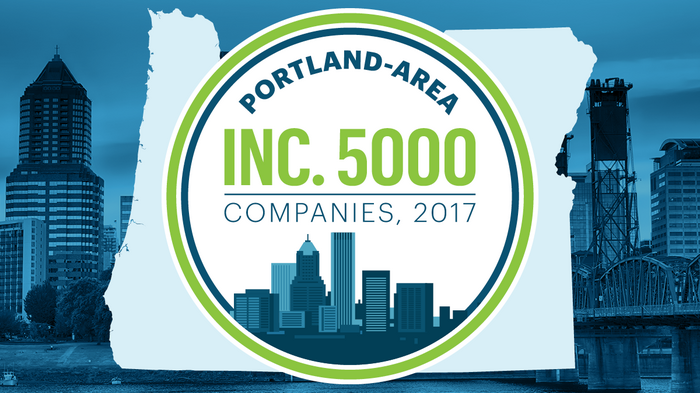 Here are the 62 Portland-area companies in 2017's Inc. 5000