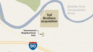 Homebuilder Toll Bros. buys 39 acres from Segale
