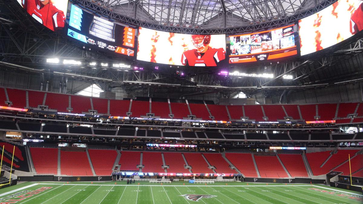 Mercedes benz stadium set to wow atlanta atlanta for Atlanta ga mercedes benz stadium