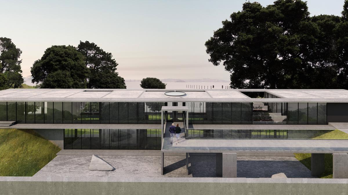 Image result for $35 million and $18 million mansions come up for sale simultaneously on Marin's 'Starchitect Street