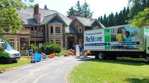 Habitat for Humanity crews dissect developer's lakefront mansion in Fox Point: Slideshow