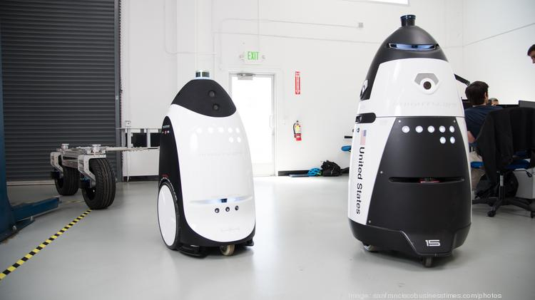 Security Robot At Spca In The Mission Gets A Warning From The City