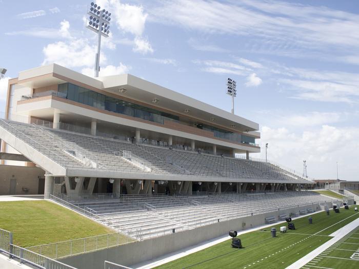 Photos: Katy ISD's new $70M football stadium ready for prime time