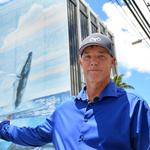 Hawaiian Airlines, artist <strong>Wyland</strong> in dispute over whale mural near Honolulu airport