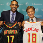 Atlanta digital health company Sharecare scores logo on Hawks uniforms (SLIDESHOW) (Video)