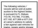August 18, 2017 legal notice