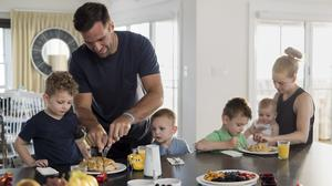 Behind M&T Bank's new TV ad featuring Joe Flacco and his family