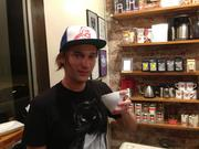 Austin Dryden of Reanimator Coffee at TNT Philly.