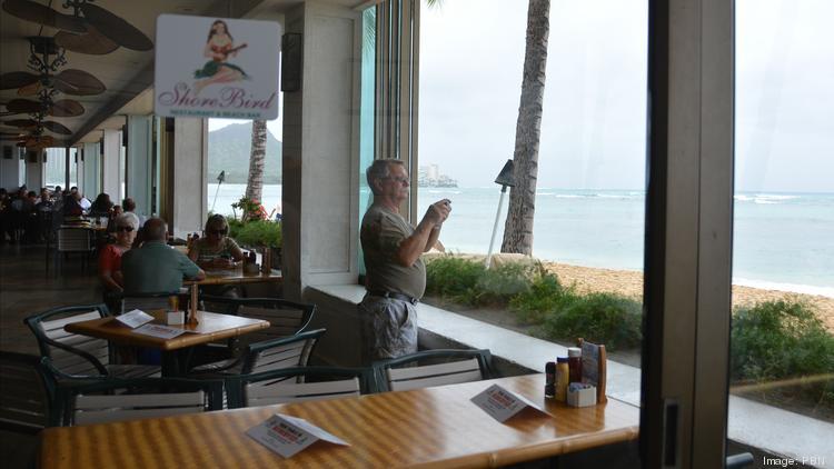 The S Bird Restaurant And Beach Bar At Outrigger Reef Waikiki Resort Seen