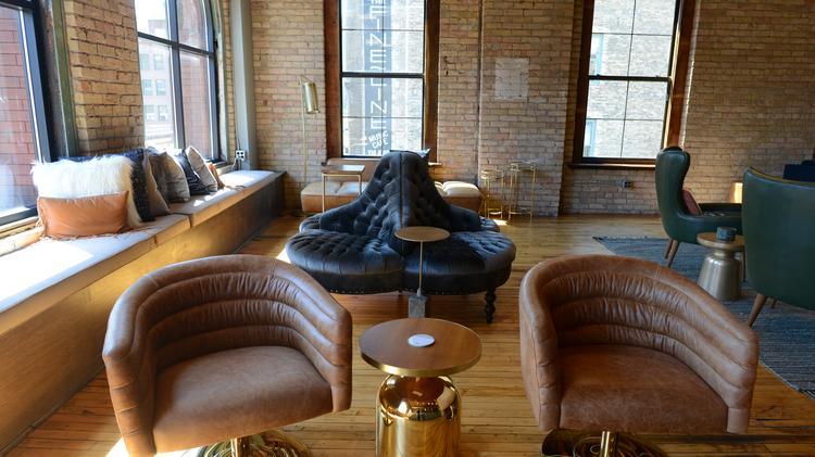 The Lounge At Brick X Mortar