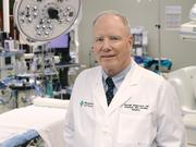 Dr. George Magovern Jr., system chair, Department of Thoracic and Cardiovascular Surgery, Allegheny Health Network surgical director, AHN Cardiovascular Institute