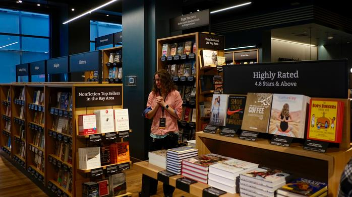 First look: Inside the first Bay Area Amazon Books