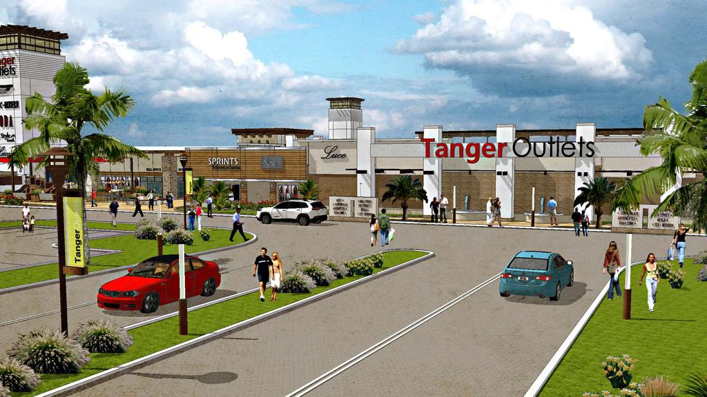 New Tanger Outlets in Fort Worth hopes