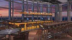 Uptown hotel unveils plans for restaurant, rooftop bar