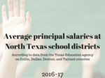 What does your district pay? See the average school principal salaries across North Texas