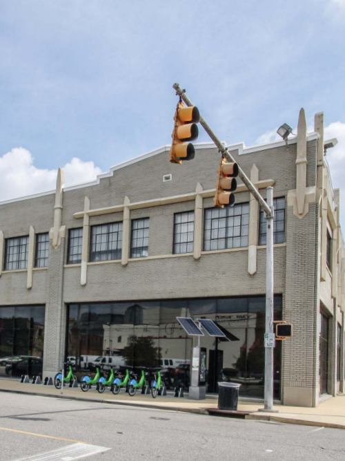 The building at 101 25th St. N. is listed for sale for $9.2 million.