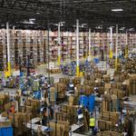 Inside Amazon's gigantic St. Louis-area distribution center