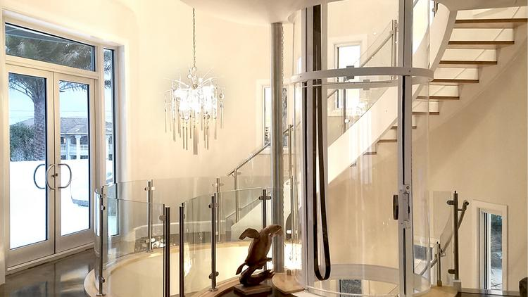 Colorado Luxury Home Glass Elevator Company Bought By