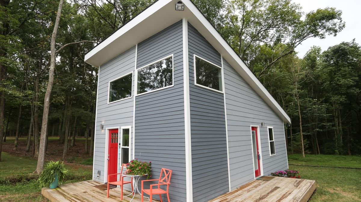 vision of tiny home community popular with prospective buyers but questions remain charlotte. Black Bedroom Furniture Sets. Home Design Ideas
