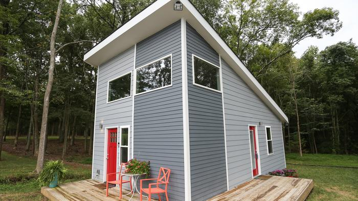 PHOTOS: What's going on with controversial tiny-house project in north Charlotte?