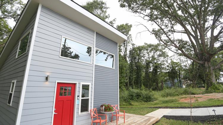 Pleasant Charlotte Tiny House Developer Real Estate Brokerage Face Download Free Architecture Designs Remcamadebymaigaardcom