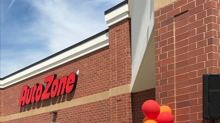 Memphis-based AutoZone Inc  opened its 6,000 store