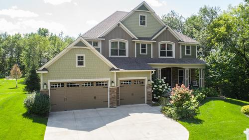 Luxurious, Walkout Home on a Maturely Wooded 0.54 Acre Lot