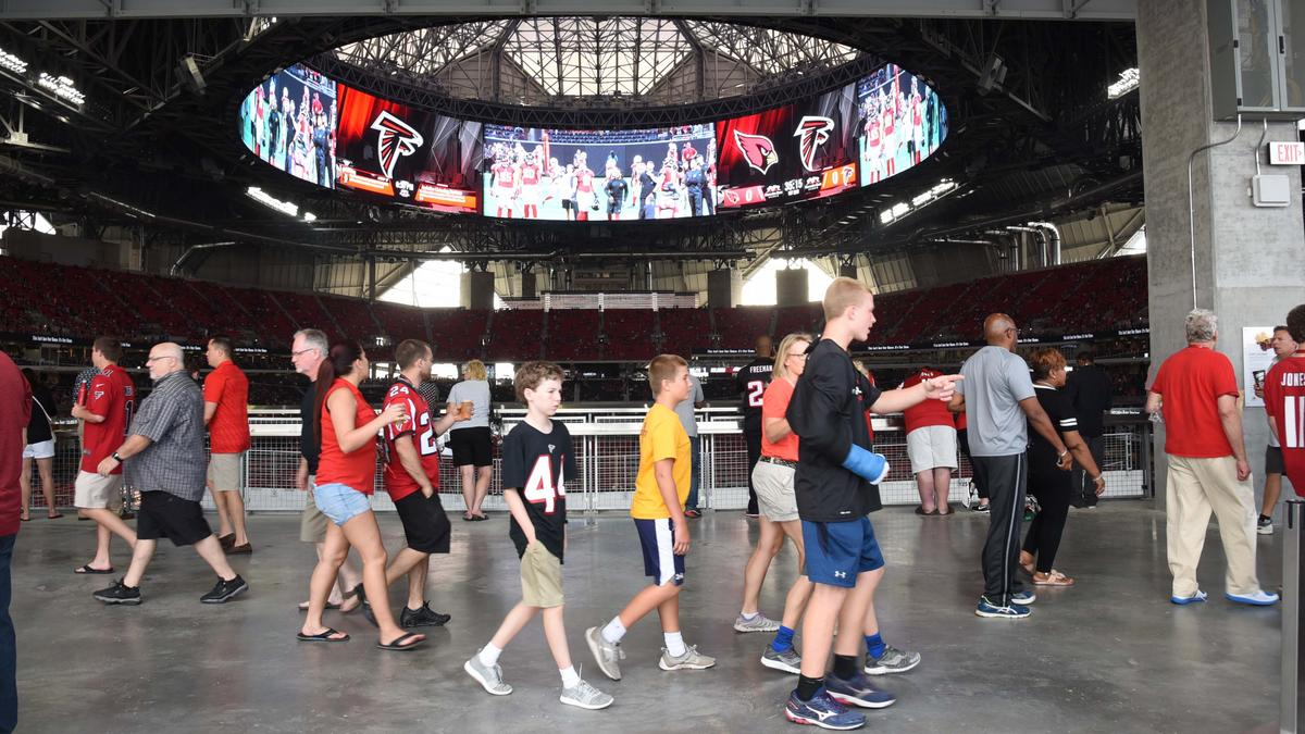 Atlanta Falcons tickets on secondary market among expensive in NFL  supplier