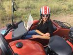 Take3: Taking in the view from a motorcycle sidecar (Video)
