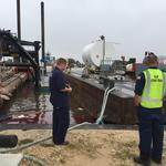 Port Corpus Christi gets first look at damage from Harvey