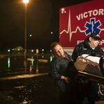 Houston's hospitals treat storm victims and become victims themselves