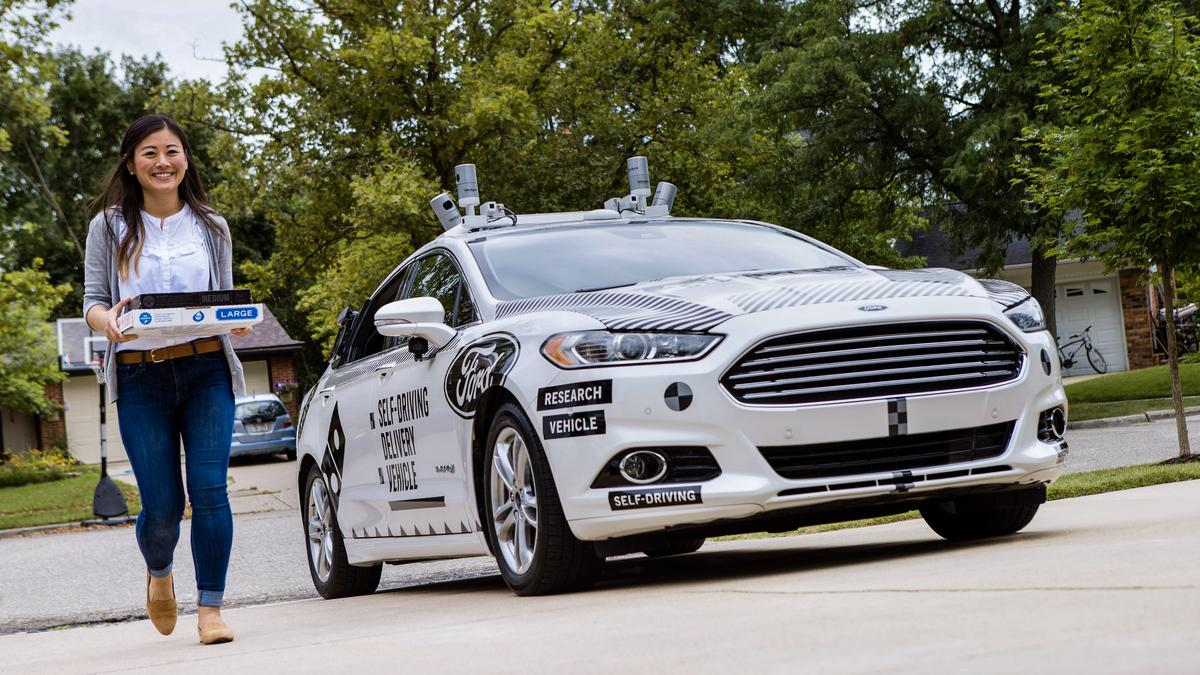 86e328dae9 Pizza without People  Domino s and Ford team up on self-driving ...