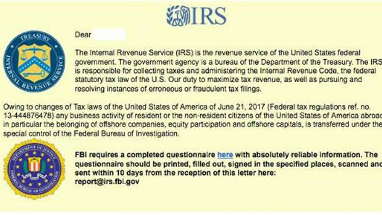 Local cyber-security expert: Take heed of latest IRS