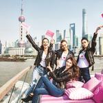 Victoria's Secret Angels flying east — Far East