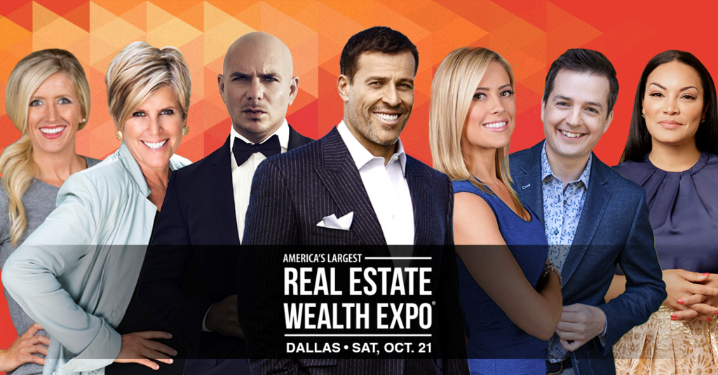 Real Estate Wealth Expo Featuring Tony Robbins, Jerry Jones and Special Performance by Pitbull